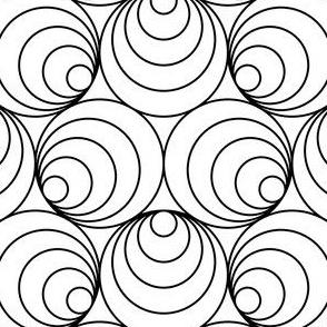 07662212 : R6 outward off-centre circles