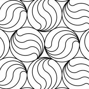 07662214 : R6 swirl split circles
