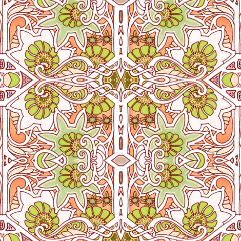 Mutiny in the Posy Patch fabric by edsel2084 on Spoonflower - custom fabric