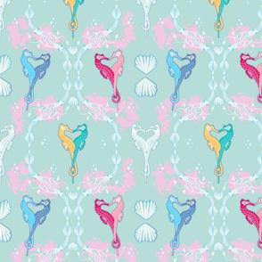 Seahorse Love