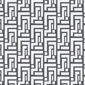 18-06F Geo Squares Gray Grey-02