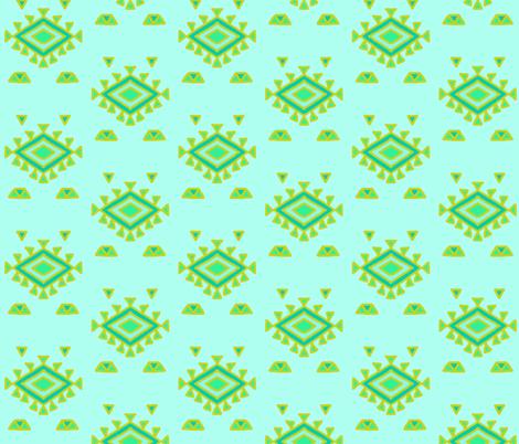 native in cacti colors fabric by hejamieson on Spoonflower - custom fabric