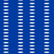 Ellipse Stripes in Cobalt