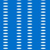 Ellipse Stripes in Brilliant Blue