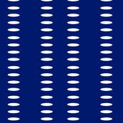 Ellipse Stripes in Purple Majesty