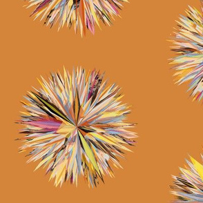 Sun Poms Orange