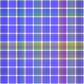 Purple Blue Plaid