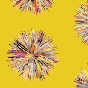 Sun Poms Yellow
