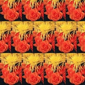 YellowMums OrangeRoses--half-brick