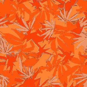 Orange MJ Camo