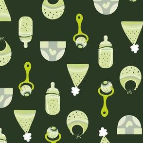 baby melon -greens