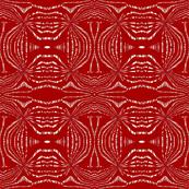 Crimson Woodcut