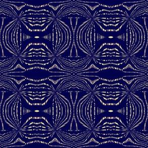 Navy Woodcut