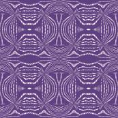 Purple woodcut