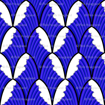 make some waves scallop pattern
