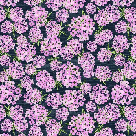 Alyssum - Pink & Navy fabric by sarah_treu on Spoonflower - custom fabric