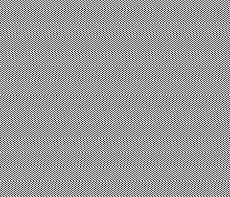 black fine chevron-01 fabric by thepoonapple on Spoonflower - custom fabric