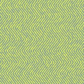 Large bright yellow jungle chevron_wobbly-01-01-01