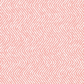 Large peachy wobbly chevron_ organic-01-01-01