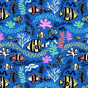 under the sea B