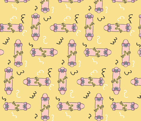 Roll With It fabric by how-store on Spoonflower - custom fabric