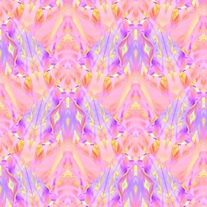 sunrise pink yellow coral butterflies scales