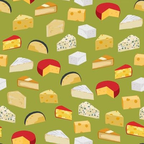 cheeses food fabric gourmet foodie green