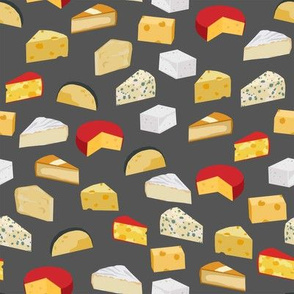 cheeses food fabric gourmet foodie med grey