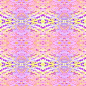 sunrise pink yellow purple abstract geometry 2 by Paysmage