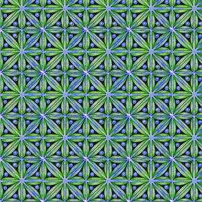 Tripoli blue & green