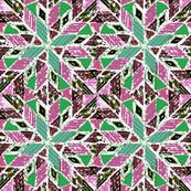 pinwheel lavender green