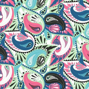 Colorful paisley 17_0030