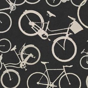 Bikes on Black