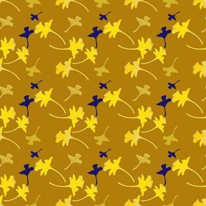 Feurs au vent-golden blue