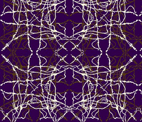 Endless loop purple fabric by janetteatkinson@yahoo_co_uk on Spoonflower - custom fabric