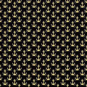 Yellow Anchors on Black