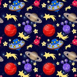 Boys Space Aliens