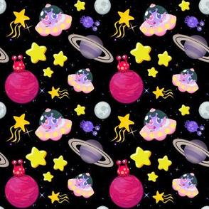 Girls Space Aliens