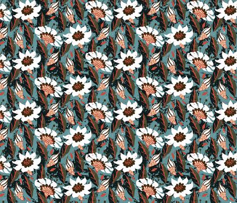 Boho flowers 16_0592 fabric by daria_rosen on Spoonflower - custom fabric