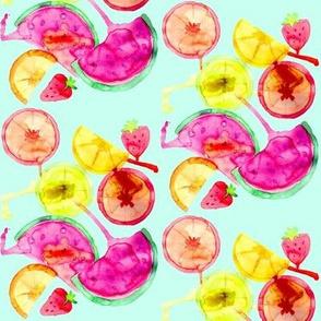 fruit salad teal small