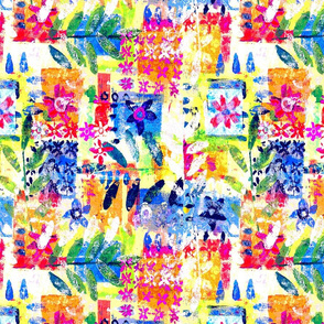 Colourfull Abstract Floral
