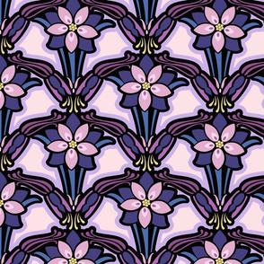 Columbine fantasy floral