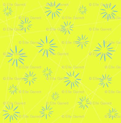 Yellow Starburst Medium