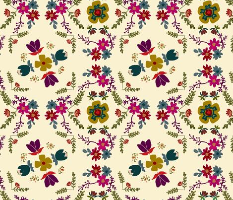 Swedish Fall colors fabric by adelaidebtq on Spoonflower - custom fabric