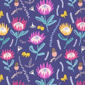 Protea  banksia floral