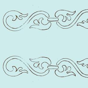 curlicue-tiffany blue