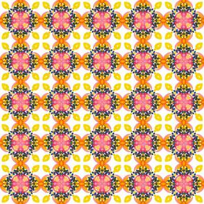 kaleidoscope abstract watercolor