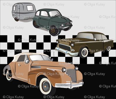 Old Vintage cars .
