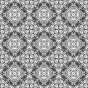 geometric ink abstract pattern