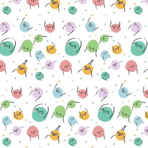 Colourful Blobs